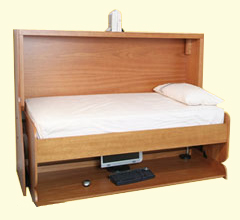 Studybed desk and bed combination deskbed studybed for Study bed plans