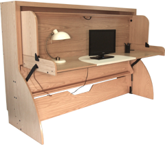 Studybed Desk And Bed Combination Deskbed