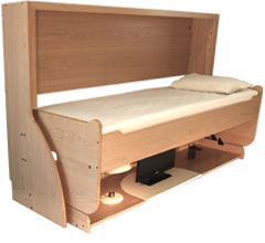 StudyBed Desk And Bed Combination Deskbed - Table converts to bed
