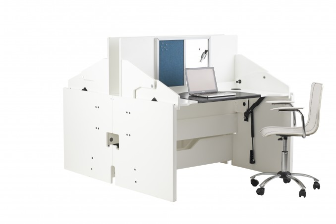 Two ConverTable Desks back-to-back