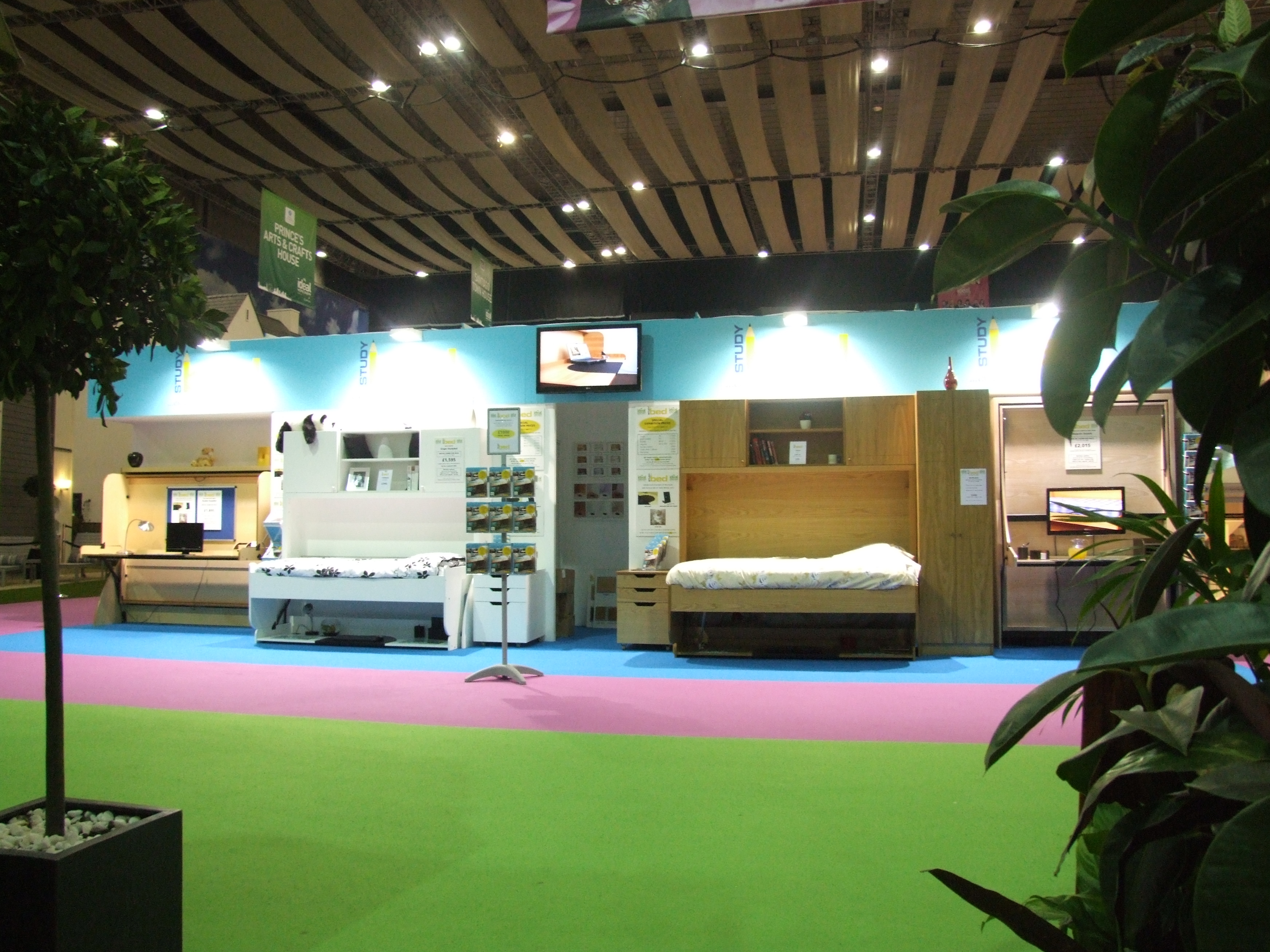 our stand at the 2012 ideal home show