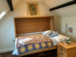 Double StudyBed in Attic Room (Bed Mode)