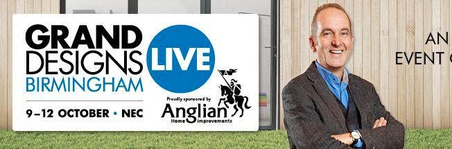 Grand Designs Live 9-12 October 2014 at the NEC, Birmingham