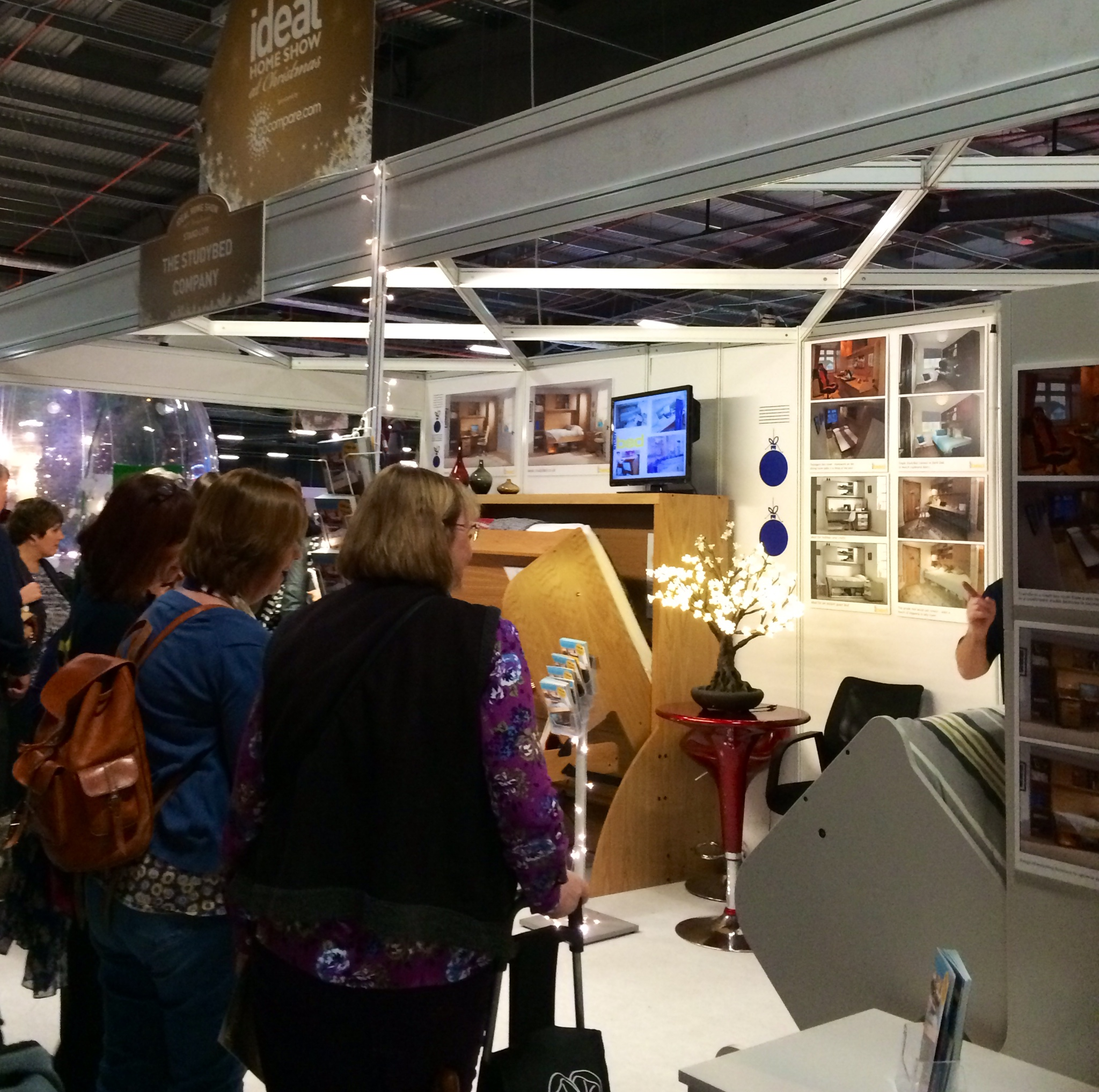 ideal home show christmas 2014 manchester the studybed company