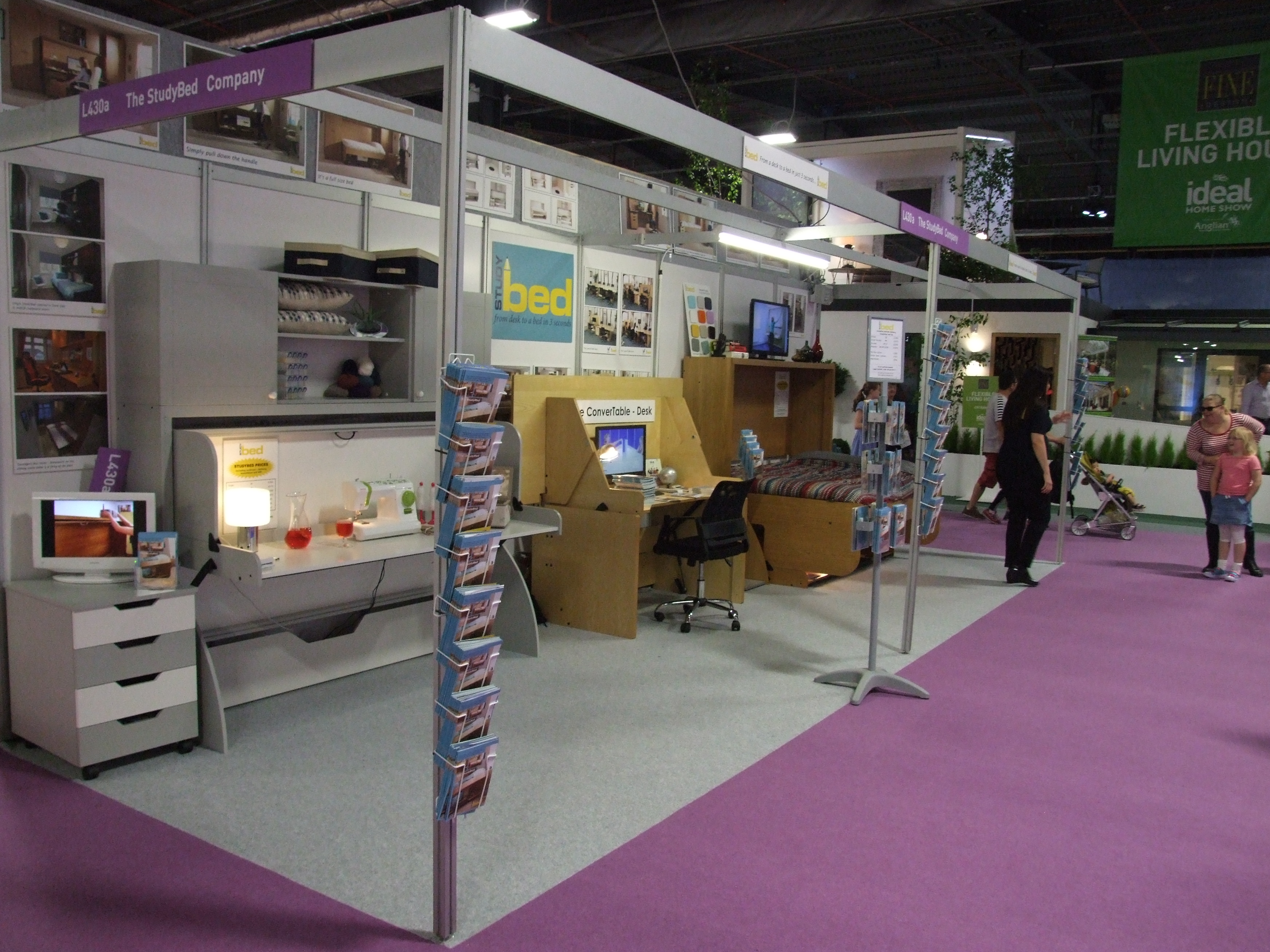 Ideal Home Show Manchester 2014 StudyBeds