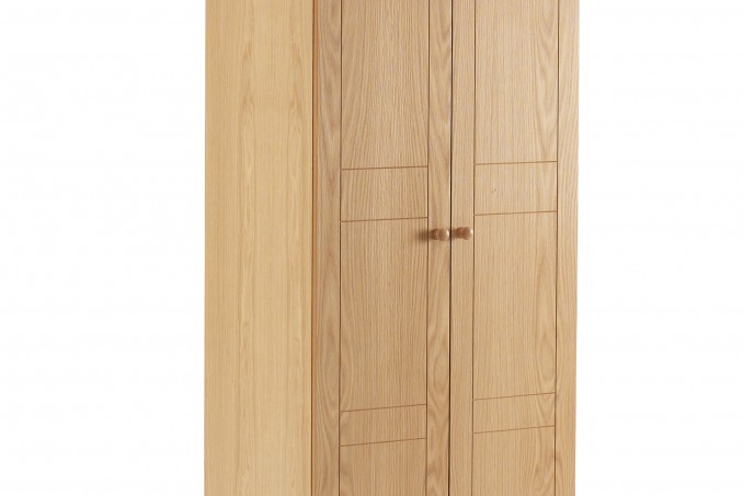 Wardrobe in Light Oak
