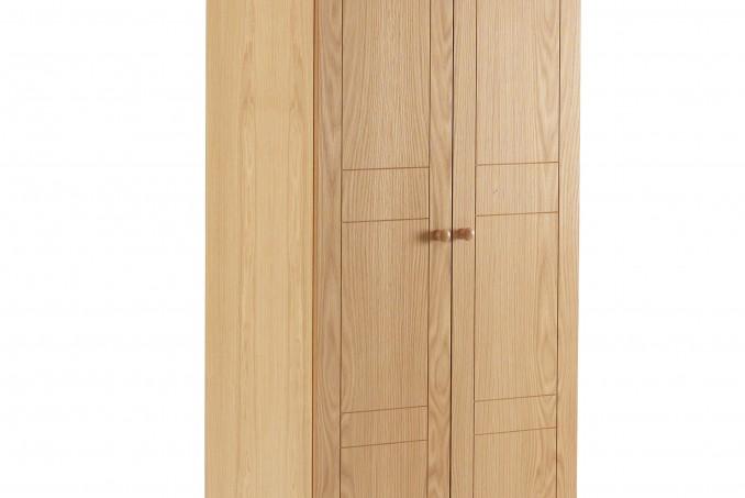 Wardrobe in Light Oak