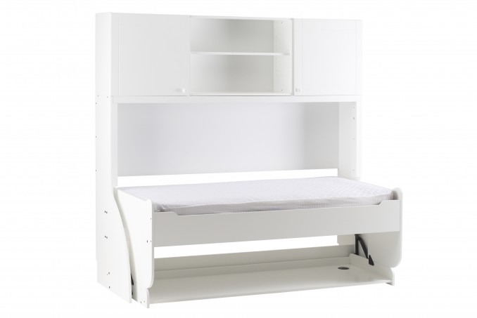 Single with Top Box in white painted (£2,409)